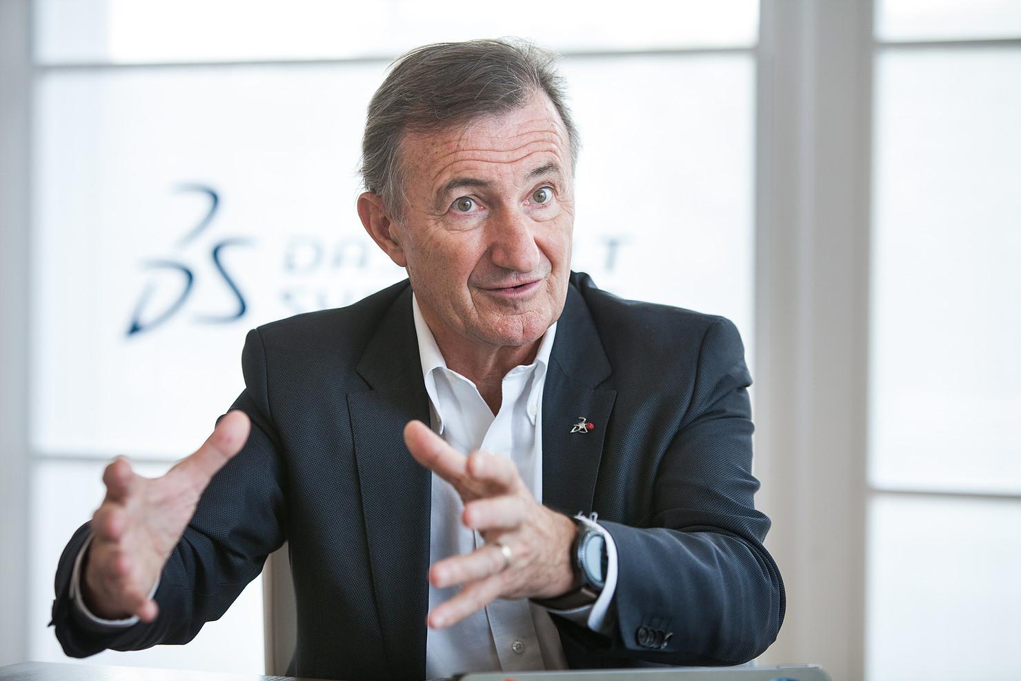 Bernard Charlès, DG Dassault Systèmes