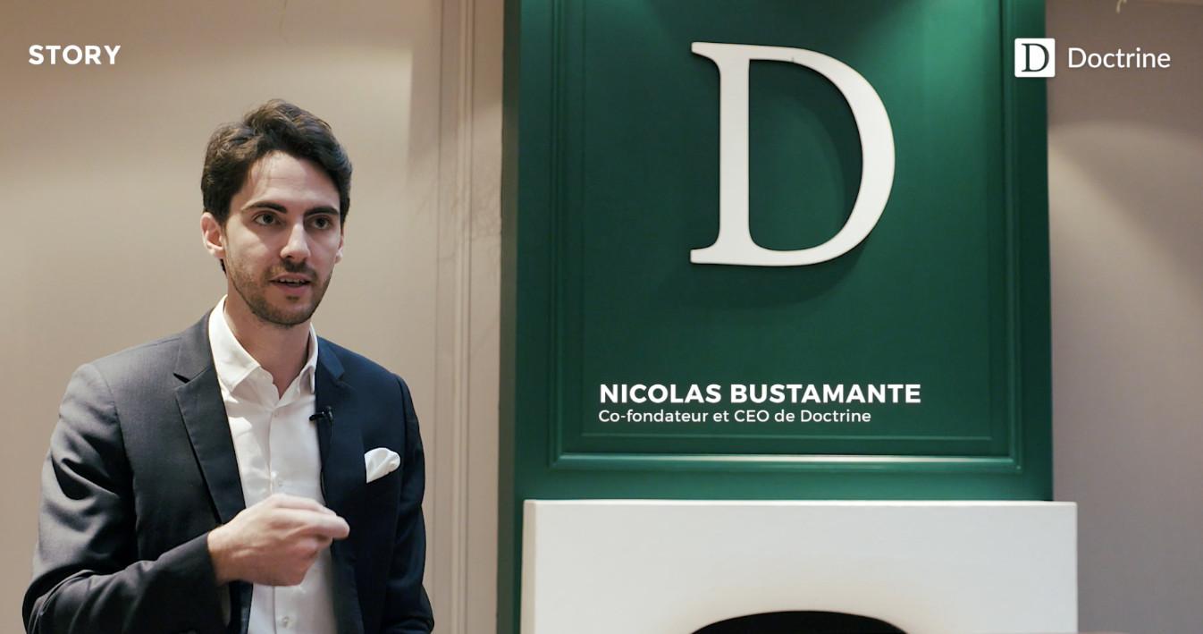 Nicolas Bustamante, PDG et co-fondateur de Doctrine