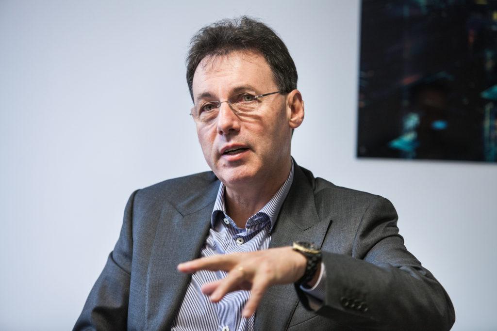 Pascal Houillon, CEO de Cegid pense  que la société va se développer grâce aux secteurs comptables et financiers