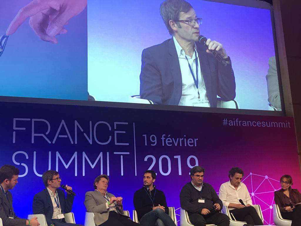 Panel représentatif des professionnels présents à l'AI France Summit