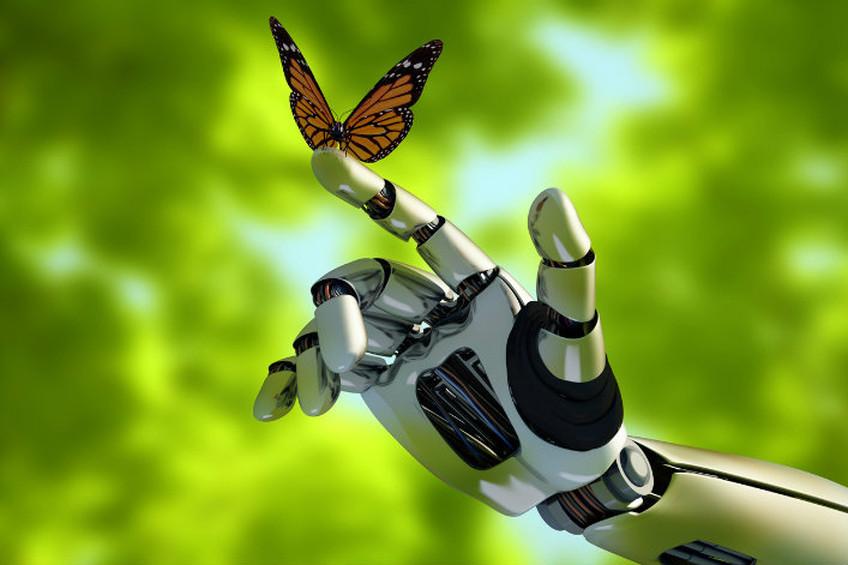 Un doigt robotique agit pour l'environnement dans une logique Tech for Good