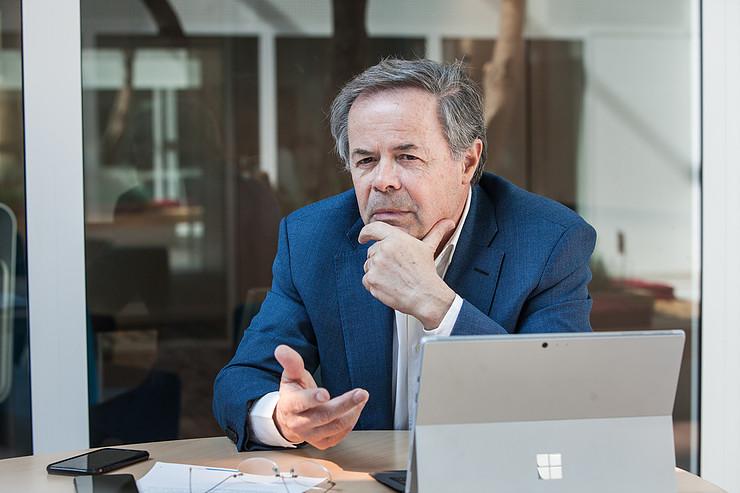 Pierre-Marie Lehucher, membre du conseil d'administration de l'ANRT