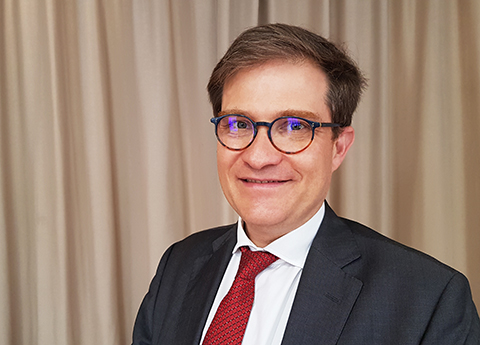 Godefroy Beauvallet, Président élu de l'Afnic