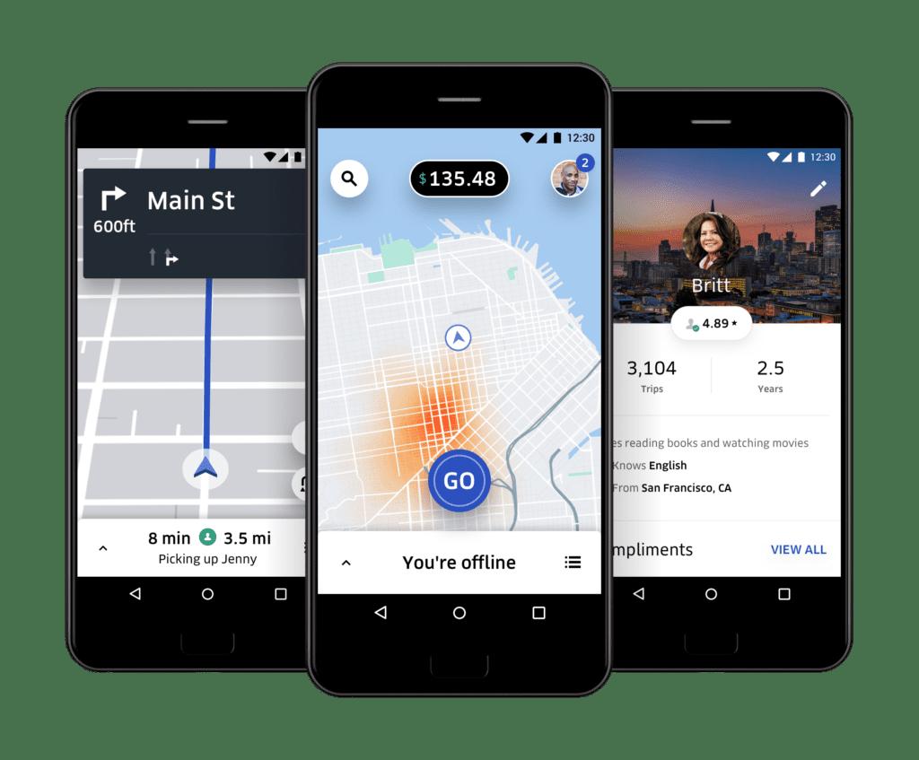 L'application Uber pour les travailleurs, au coeur de la LOM