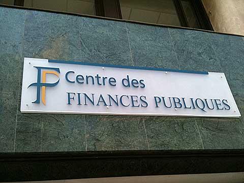Le centre des finances publiques