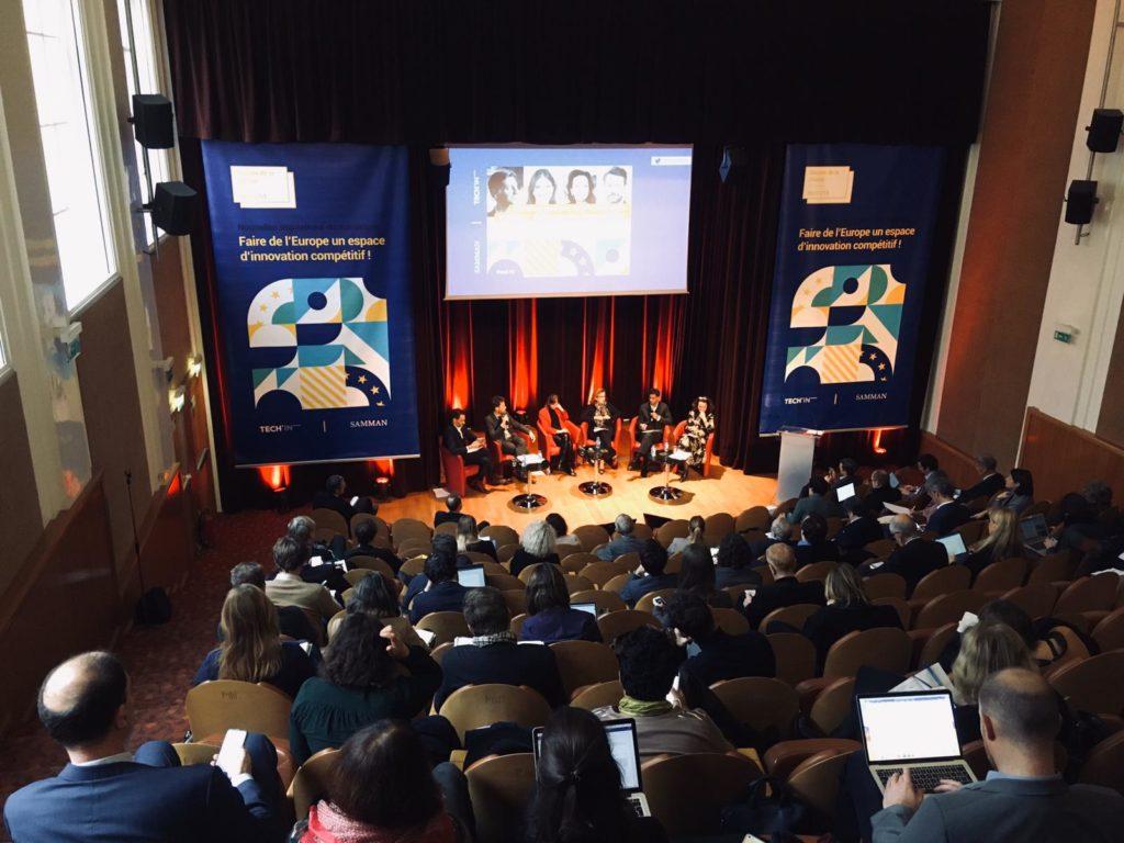 Nouvelles régulations du numérique : Faire de l'Europe un espace d'innovation compétitif » organisé par TECHIN France
