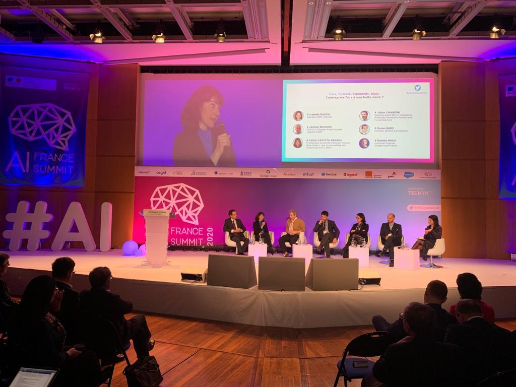 AI France Summit 2020 au centre Pierre Mendès-France