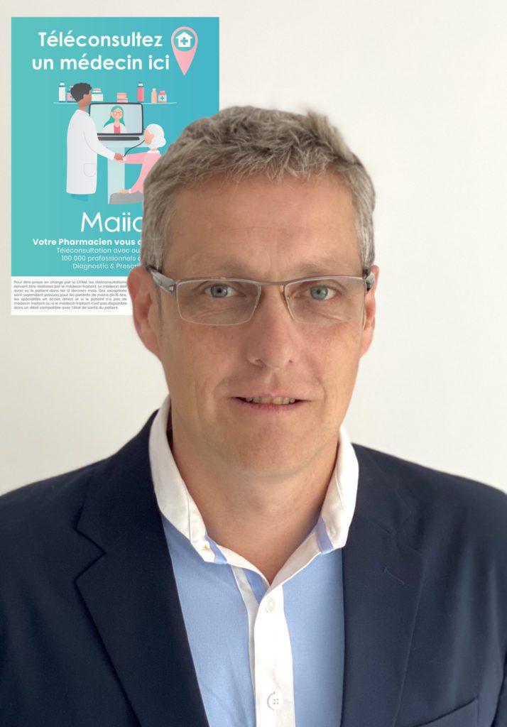 Eric Roussin, Directeur du développement de Maiia (Groupe Cegedim)